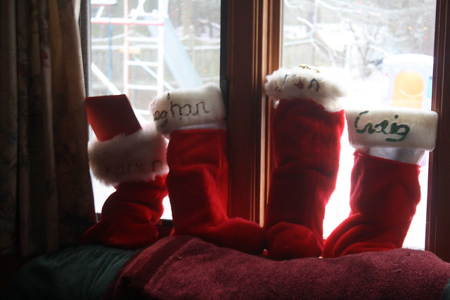 stuffed stockings