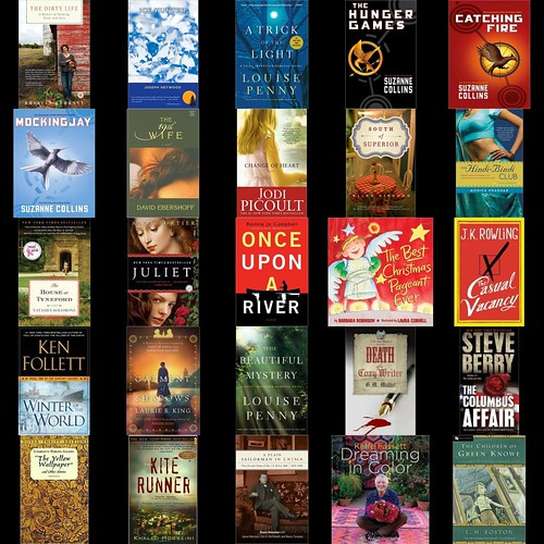 2012 Mosaic of Books Read