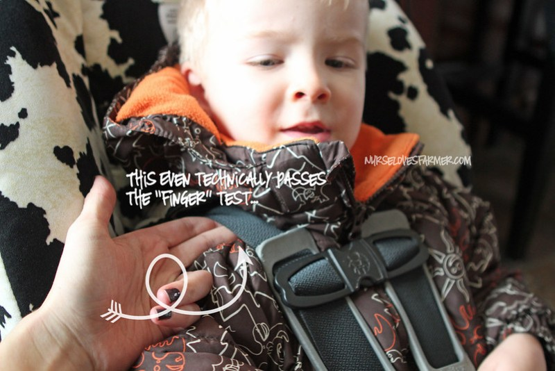 Car Seat Safety + Winter Jackets
