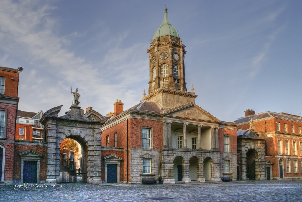 Dublin Castle, where to stay in dublin