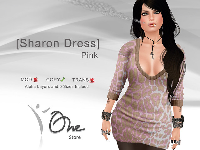 [Sharon Dress] Pink