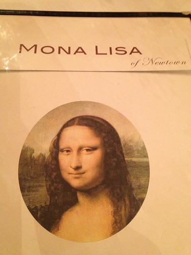 Mona Lisa Menu