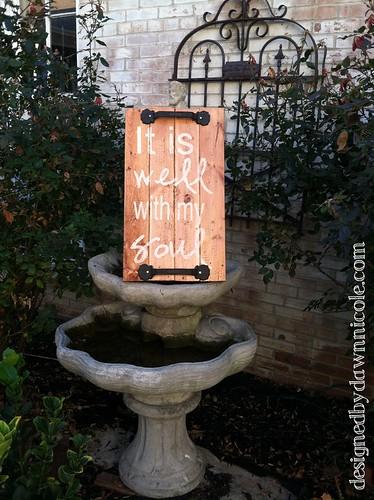 DIY Rustic Wood Sign Art