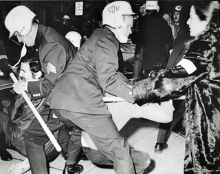 Police Grapple with Demonstrators: Counter-Inaugural 1969