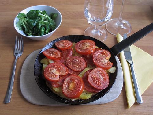 Kartoffelpfanne nach Tortilla-Art