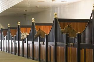Tom Croce designed stables