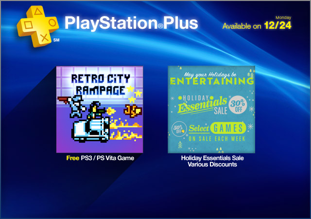 PlayStation Plus Update: 12-24-2012