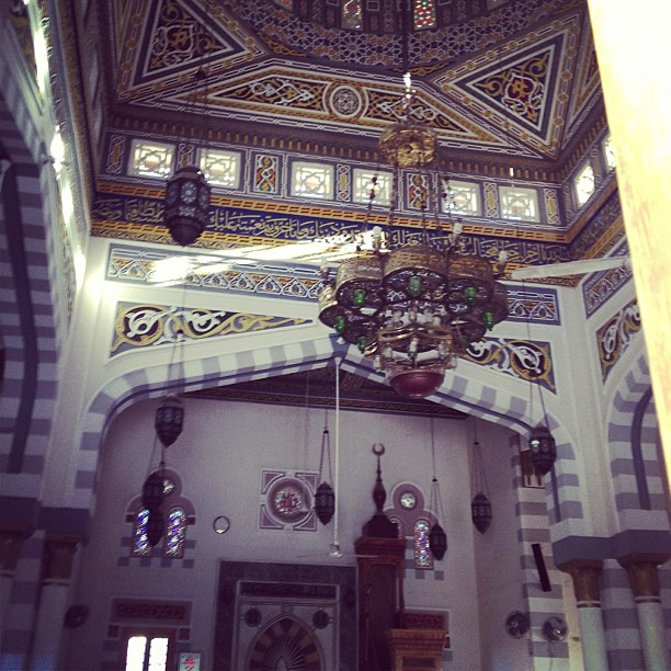 Old Mosque from inside