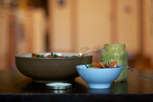 Kale, Carrot, & Fennel Salad