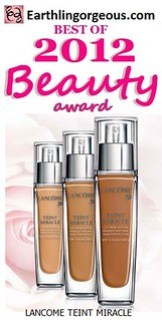 EG Beauty Awards 2012 Lancome Teint Miracle