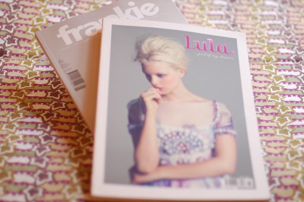 Frankie Magazine and Lula