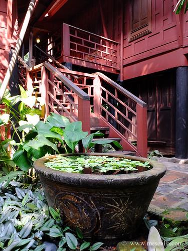 Casa i jardí tradicional a Bangkok