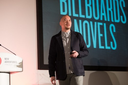 Jon Tan - New Adventures in web design 2013 - Billboards and Novels