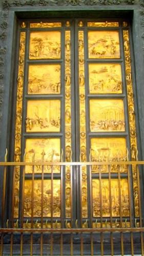 Porta del Paradiso, Battistero Firenze