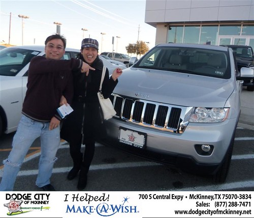 Congratulations to LONG NGUYEN on the 2013 Jeep Grand Cherokee by Dodge City McKinney Texas