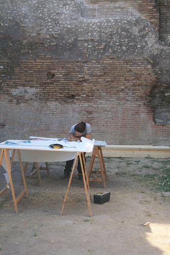 Roma Archeologia: 'ROMA – VALLE DEL COLOSSEO – PALATINO NORD-ORIENTALE (2002-12).' Prof.ssa Clementina Panella, La Sapienza - Universita di Roma (07/10/2011).  by Martin G. Conde
