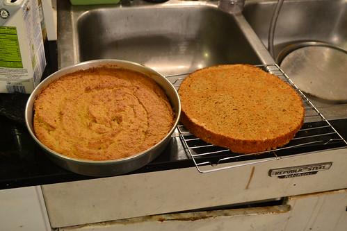 Sweet Potato Torte - Baked