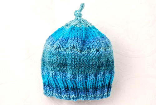 Sunshade preemie hat