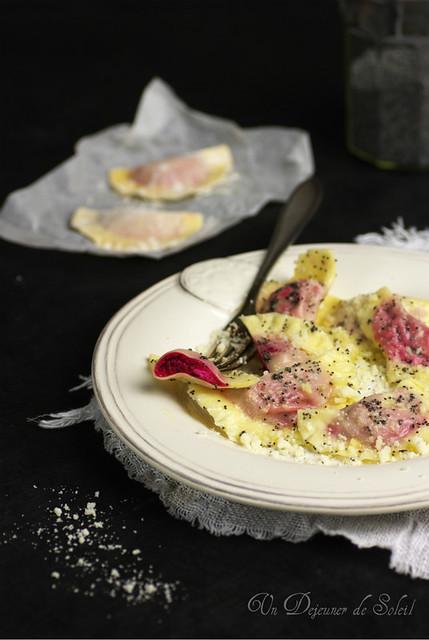 Casunzei Ampezzani - Italian dumpling with beetroot