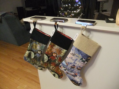 Make your own Christmas stocking from existing
