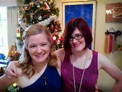 Anne and Laura, my wonderful girls.