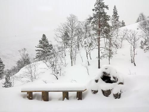 Snøen fortsatte å lave ned