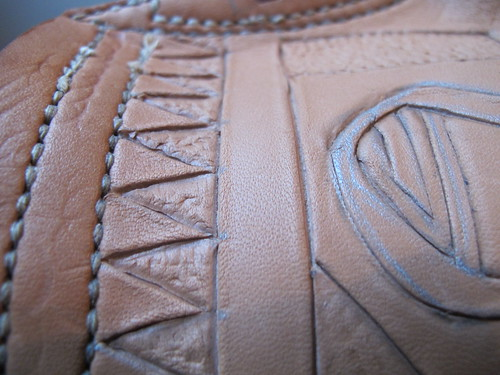 leather costrel 16