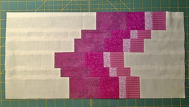 The something new sampler - Bargello Block
