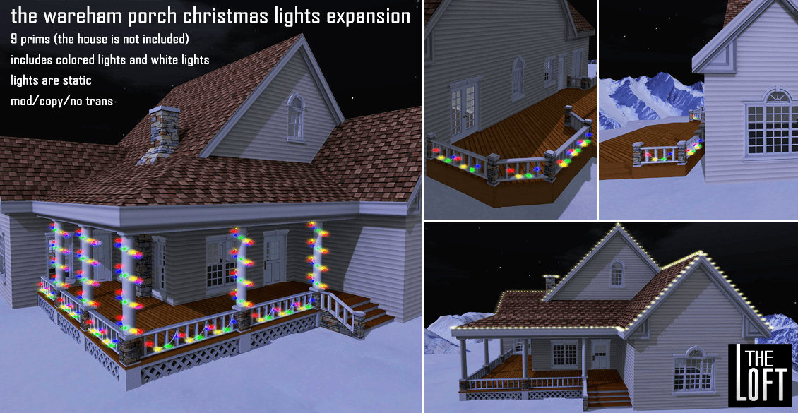 The Loft - Wareham Xmas Lights Porch Expansion