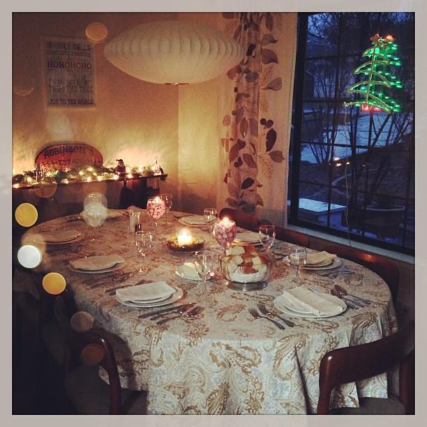 Ready for Christmas dinner!