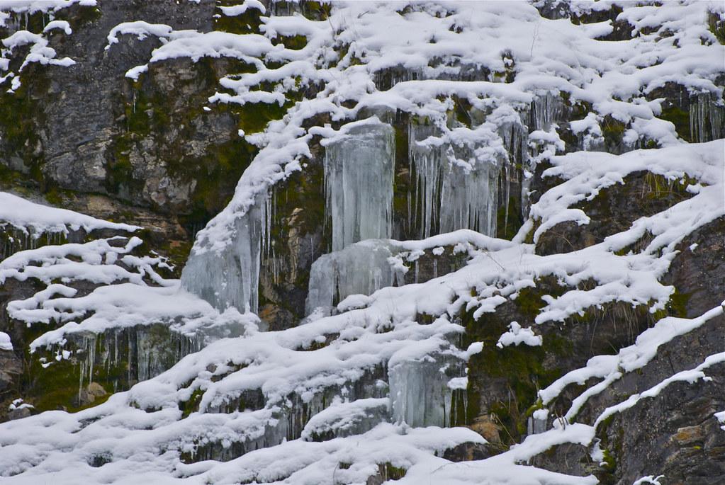 Buffalo Bill Creek icicles