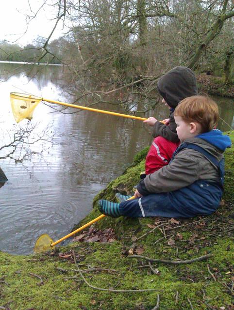 Fishing at Hilton nature reserve
