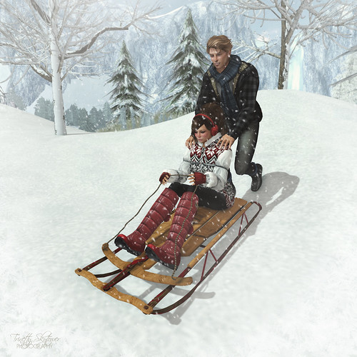 oOo Studio: SleddingTwo