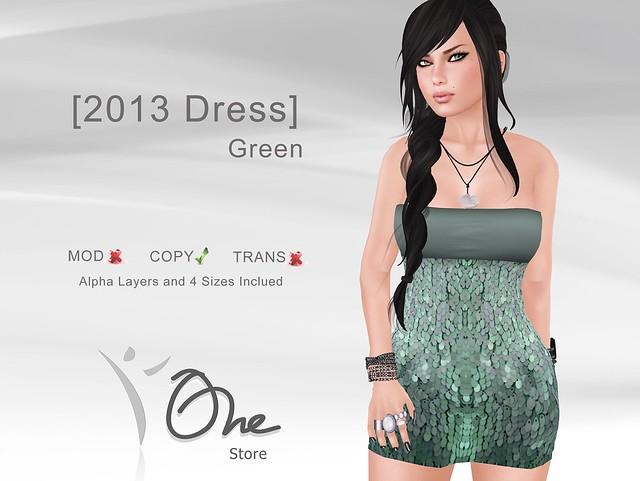[2013 Dress] Green