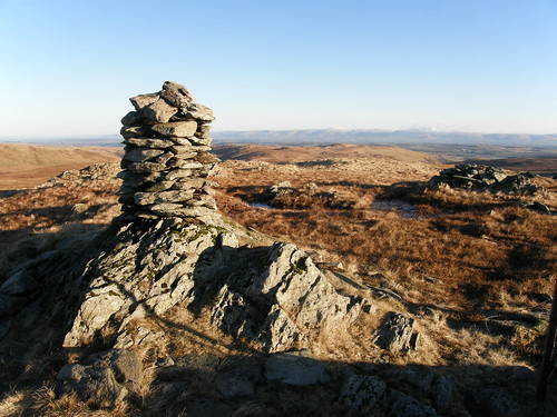 Harrop Pike Summit Cairn