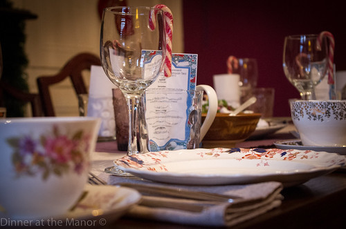 Dinner at the Manor Vintage Afternoon Tea