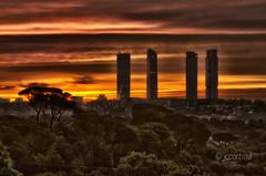 Amanecer en Madrid el 12 del 12 del 12