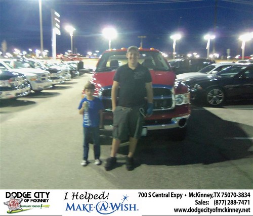 Congratulations to VALERIA WOLFE on the 2004 DODGE RAM 2500 by Dodge City McKinney Texas