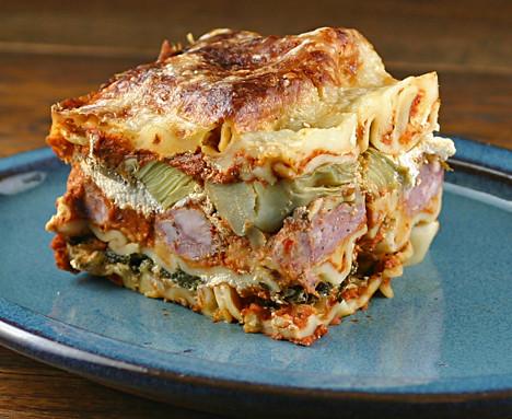 Rustic Lasagna Small