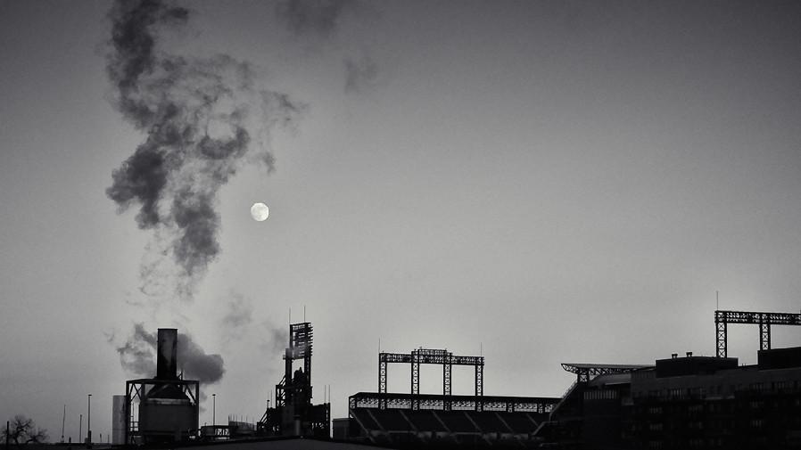 Smokey field