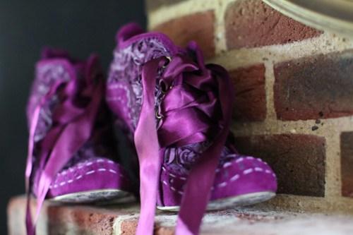 Moody Marriage - Purple Wedding Shoes!