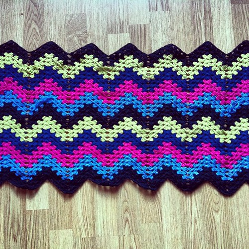 #wip #crochet #blanket for Sumarrós
