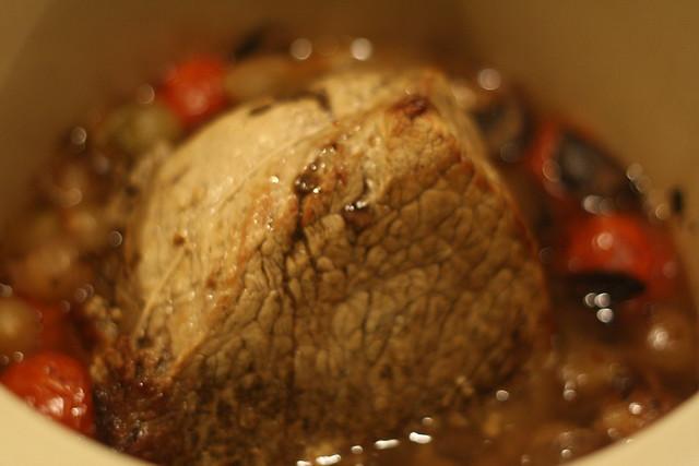 roast beef in the crock pot