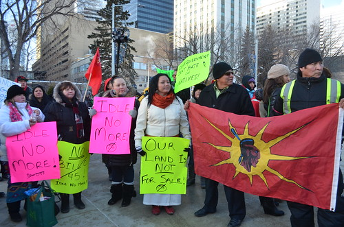 Idle No More - ONE Heartbeat - Edmonton