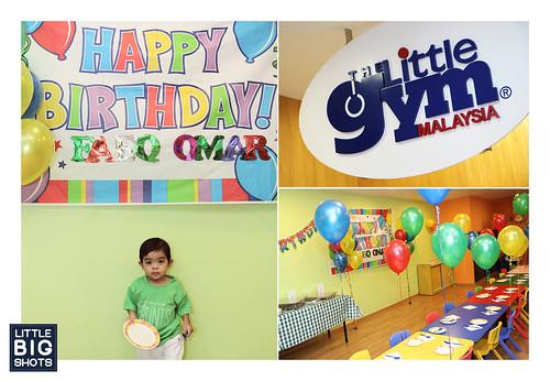 Faeq Omar is 2!