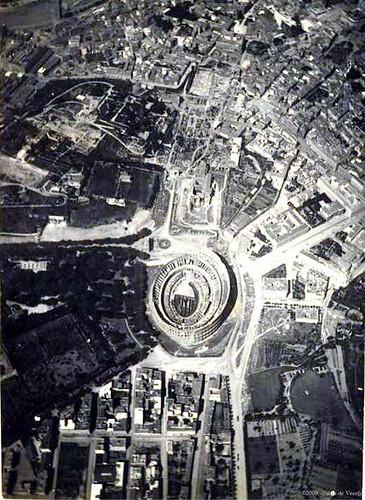 ROMA ARCHITETTURA E ARCHEOLOGIA: I Fori Imperiali e Metro C (2006-12): Veduta di Roma (ca. 1910-28). by Martin G. Conde
