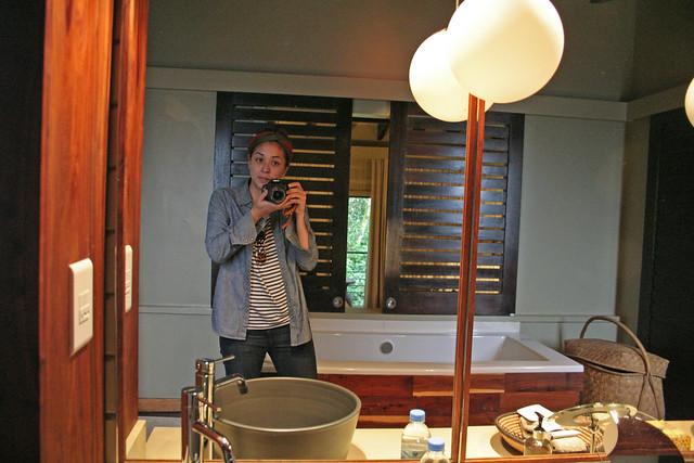 Nyungwe Forest Lodge mirror
