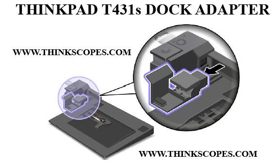 ThinkPad T431s dock adapter
