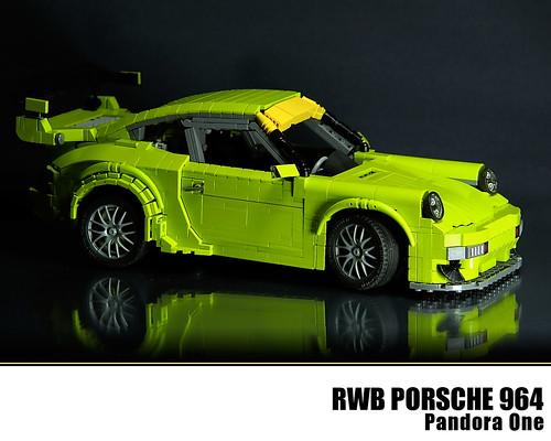 LEGO Porsche tuner