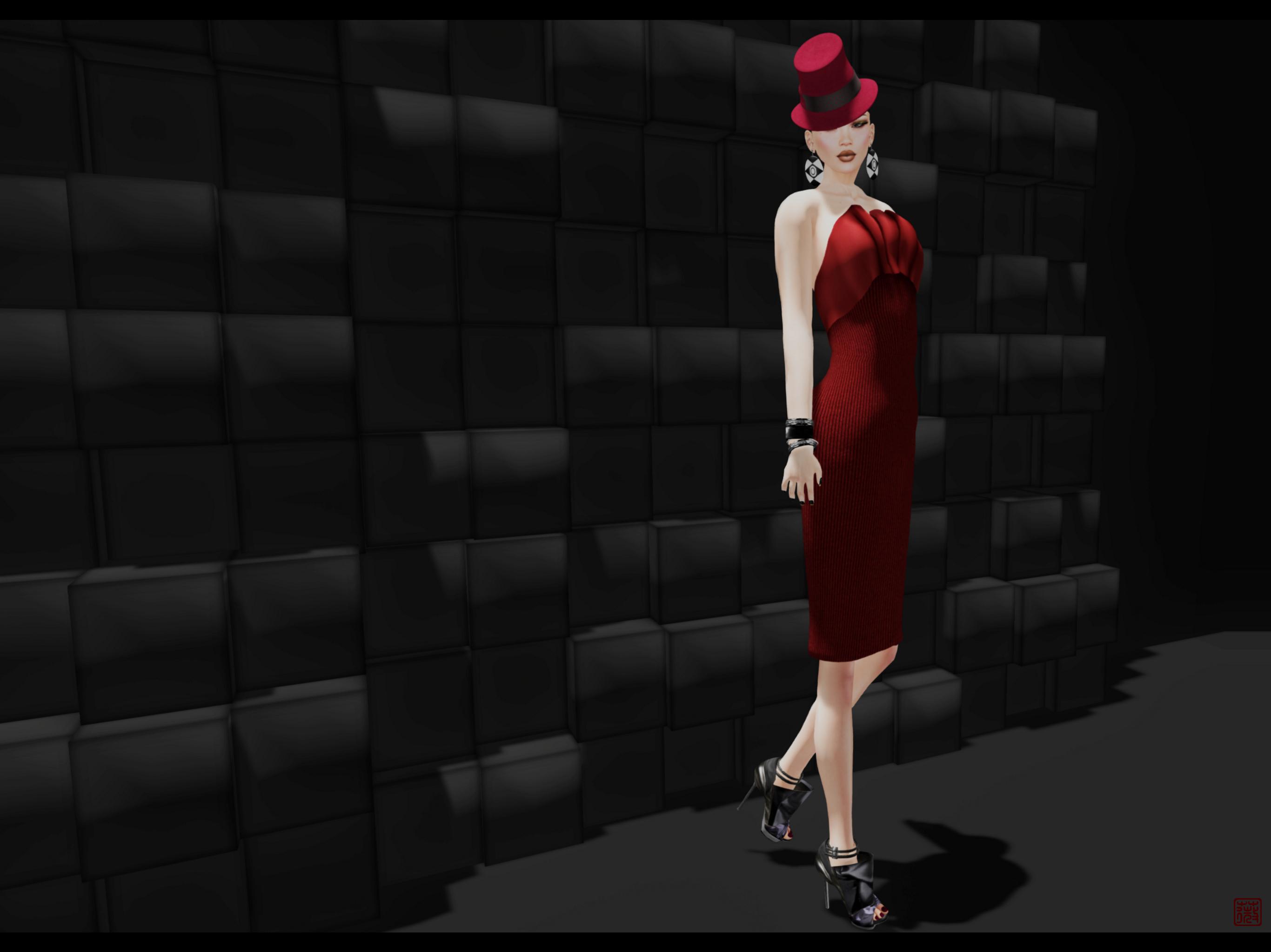 赤紅淑女 . Lady Red